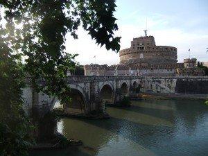 ponte e castel san angelo