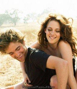 Robert Pattison et Kristen Stewart